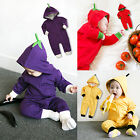 """Vaenait Baby Boys Girls Clothes Infant Hoodie Outfit """"Zipup vegetable"""" 0-24M"""