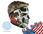 New Full Face Mask Skull Black Reversible Neoprene Snow Ski Motorcycle
