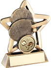 Resin Table Tennis Trophy with Free Engraving up to 30 Letters