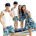 Summer Family clothing mother and daughter dresses father son Matching outfits