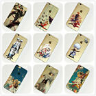 Gintama Anime Manga iPhone 4s 5 5s 5c 6 6s Plus Case Silicone TPU Free Shipping