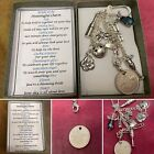 BRIDE TO BE Meaningful Keepsake keyring Charm Gift Boxed Rhymes Angel Sixpence
