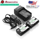 LP-E6 Decoded Battery & Charger For Canon EOS 7D 70D 6D 6...