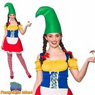 CUTE GARDEN GNOME DWARF ADULT NOVELTY UK 6-24 Womens Ladies Fancy Dress Costume