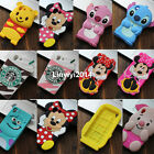 3D Cartoon Cute Soft Silicone Phone Case Back Cover Skin For Sony Xperia Phones