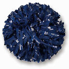 "00029BA One (1) Cheerleading Pom Poms, 6"" Solid Color Plastic"