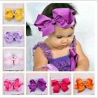 Baby girl big bows hair accessories Infant baby headband Hair bows accessories