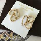 Kate Spade NY Clear Crystal 14k Gold Fill Cluster Earrings WBRU9177 MWT