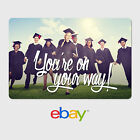 Gift Cards - Personalized eBay Gift Cards - Graduation Designs - $25 to $100 - Email Delivery
