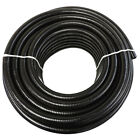 "1/2"" x 100' Black Flexible PVC Pipe, Hose, Pond Tubing for Koi & Water Gardens"