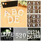 White 26 Wooden Wood Alphabet Letter Wall Hanging Home Decoration Wedding Favour