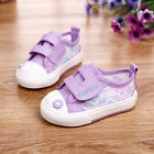 NEWFashion Baby Toddler'sGIRLS Purple Floral Sports Casual Canvas Shoes