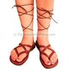 PREMIUM QUALITY, 100% LEATHER,HANDMADE Biblical Jesus Sandals for  Lady-Tiberias