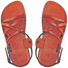 PREMIUM QUALITY, 100% LEATHER,HANDMADE Biblical Yeshua - Jesus Sandals