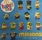 UK Mcdonalds Minion Movie 2015 Talking Toy Figure New Sealed 7-10cm Minions