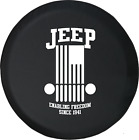 Enabling Freedom Jeep Spare Tire Cover OEM Vinyl