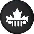 Jeep Wrangler JK TJ Grill Canadian Maple Leaf Mountie Spare Tire Cover OEM Vinyl