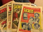 "1950's MAGAZINE ""SECRETS"" CRIME,ROMANCE,STORIES.FREE UK P&P £3.99 each.ISSUES"