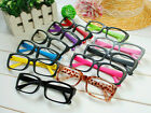 SALE---------------New Retro Square Fashion Resin Frames Men And Women