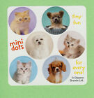 90 Rachael Hale Mini Dot Stickers - Cats, Dogs, Kittens, Puppies - Party Favors