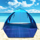 POP UP POTABLE BEACH SHELTER TENT CAMPING SUN SHADE OUTDOOR CANOPY
