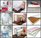 13-PCS NURSERY SET - 11-PCS BEDDING SET + BABY COT + MATTRESS WITH LARGE CANOPY