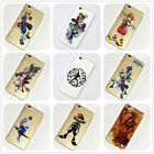 Kingdom Hearts iPhone 4 4s 5 5s 5c SE 6s 7 Plus Case Silicone TPU Free Shipping