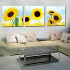 Modern Wall Home Deco Abstract Art Sunflower Pictures Print Oil Painting Canvas