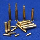 1/35 scale 76,2mm OQF 17 pounder - brass shells and ammo