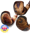 New Fashion HAND CARVED Tobacco Smoking Pipe Pipes Pipa For 9 mm Filter Handmade