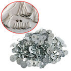 Внешний вид - 100/200Pcs Candle Wick Durable Sustainer Wick Tabs Silver For Candle Making Gift