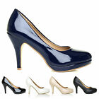 OFFICE Work Classic Low Platform Mid-High Heel Pumps Ladies Court Shoes US Size