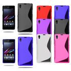 Ultra Slim S Line Gel Case Soft Phone Skin Cover For Sony Xperia Z5 + Screen