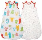 Grobag Baby Sleeping Bag Spotty Bear TWIN PACK 0  6 18 36  months 2.5 tog