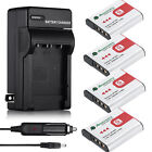 Type G Battery for SONY Cybershot NP-BG1 FG1 DSC-H20 H9 H3 T100 W90 W80 +Charger