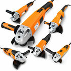 Electric Angle Grinder with Handle Corded Heavy Duty DIY Tool KIt 500 - 2400 W