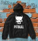 SWEATSHIRT PITBULL HOODIE boxing fashion style ultras angry italian dog animal