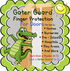 Front Hinge Finger Door Protection Gater Guard