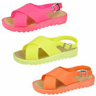 Wholesale Girls Sandals 18 Pairs Sizes 10-2  H0137