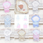Newborn Baby Soft Swaddle Wrap 0-3 months/ Swaddling Blanket/Duvet - Plain Check