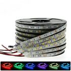DC12V 1M 5M SMD 5050 RGB white Waterproof 300 LED Flexible 3M Tape Strip Light