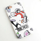 Cute Cartoon One Piece Luffy Soft TPU Back Case Cover For Apple iPhone 6/6s Plus