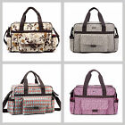 New Baby Luxury Nappy Changing Bags Diaper Bag Set 3Pcs Beige Brown Red Grey