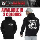 BODYBUILDING MMA GYM HOODY BEASTMODE GYM CLOTHING HOODED JUMPER SWEATSHIRT TOP