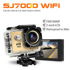 "SJ7000 2"" WiFi 1080P Action Camera Sports DV Car Dash Camcorder Upgraded SJ4000"