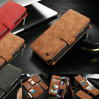Genuine Leather Case Cover Zipper Wallet Card Multifunction For iPhone 5G 5S SE