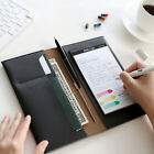 Padfolio and Writing Pad Mini Business Organizer Writing Portfolio with Notepad