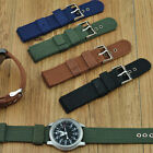 WOW Men' Buckle Infantry Military Wrist Army Nylon Canvas Strap Band For Watch