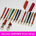 Genuine Leather Cowhide Wrist Straps Replacement for Clutch Wristlet Purse Pouch