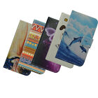 For ZTE CASE cover deluxe cute card holder phone flower Wallet